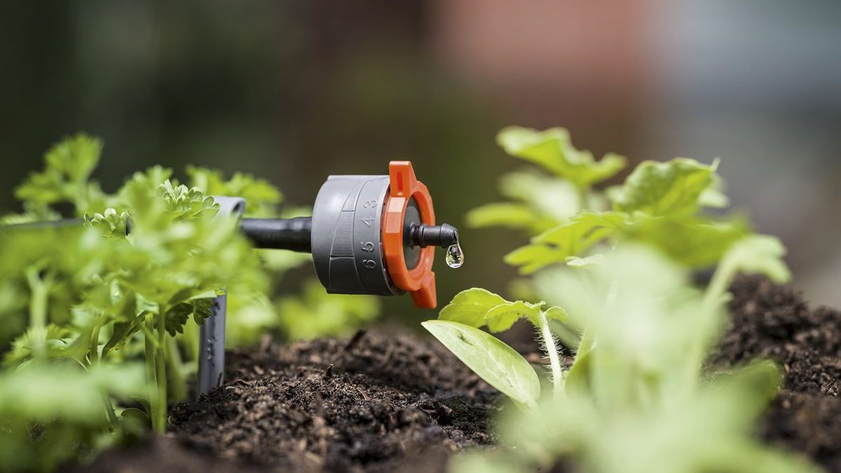 What are the advantages of drip irrigation?